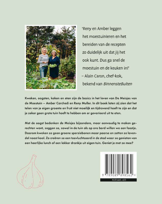 Reny Muller, Amber Carchedi,De meisjes van de moestuin