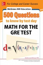 McCune, Sandra Luna McGraw-Hill Education 500 Questions to Know by Test Day