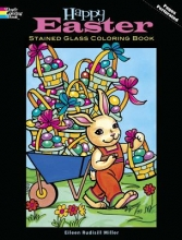 Eileen Miller Happy Easter Stained Glass Coloring Book