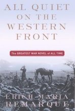 Remarque, Erich Maria All Quiet on the Western Front
