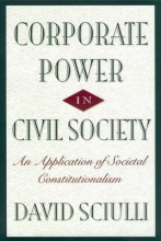 Sciulli, David Corporate Power in Civil Society