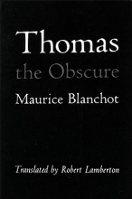 Blanchot, Maurice Thomas the Obscure