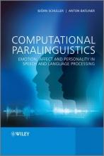 Bjorn Schuller,   Anton Batliner Computational Paralinguistics