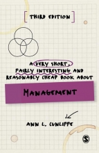 Ann L Cunliffe, A Very Short, Fairly Interesting and Reasonably Cheap Book about Management