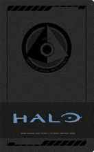 Halo Hardcover Ruled Journal