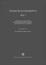 Arabische Handschriften Reihe B, Teil 7