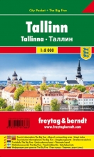 , Tallinn, Stadtplan 1:10.000, City Pocket + The Big Five