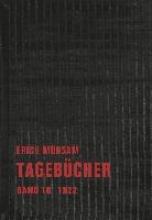 Mühsam, Erich Tagebücher Band 10. 1922