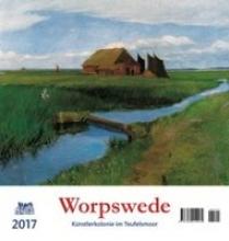 Worpswede 2017 Postkartenkalender