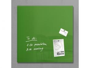 , glasmagneetbord Sigel Artverum 480x480x15mm groen