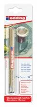 , Viltstift edding 780 lakmarker rond goud 0.8mm blister