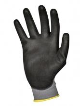 , Handschoen ActiveGear grip PU-flex zwart medium