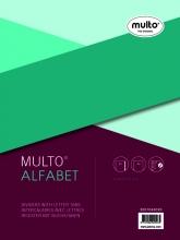 , Tabbladen Multo A4 23-gaats 20-delig A-Z grijs