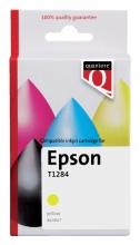 , Inktcartridge Quantore Epson T128440 geel