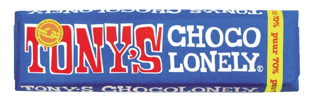 , Chocolade Tony`s Chocolonely reep 50gr puur