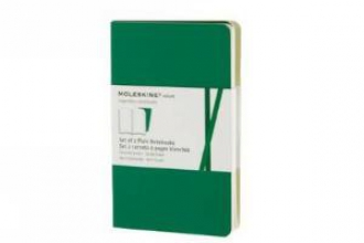 Moleskine Plain Volant Pocket Emerald Green Cover