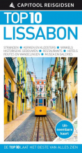 Tomas  Tranaeus Capitool Top 10 Lissabon + uitneembare kaart