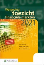 , Wetgeving toezicht financiële markten 2021