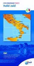 ANWB , Wegenkaart Italië 8. Italië zuid
