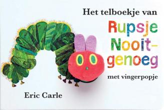 Eric Carle , Het telboekje van Rupsje Nooitgenoeg