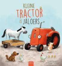 Natalie Quintart Kleine tractor is jaloers