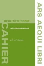 T. Loenen , Het gelijkheidsbeginsel