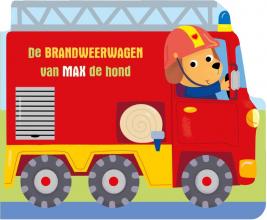 , De brandweerwagen van Max de hond
