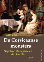 Wim  Zaal De Corsicaanse monsters GROOTLETTERBOEK