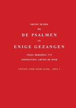 , Nieuwe muziek bij de psalmen en enige gezangen 2 Uitgave voor koor (satb)