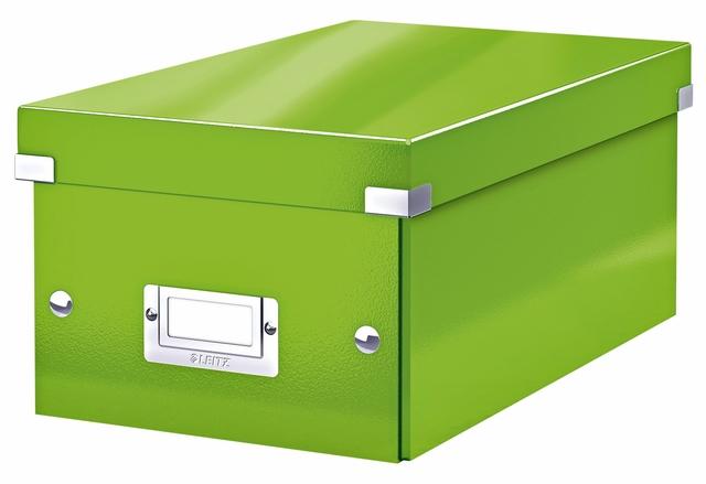 ,DVD-box Leitz WOW Click&Store 206 x 147 x 352 mm groen