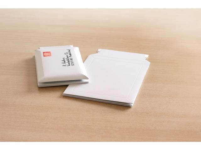 ,envelop Raadhuis 238x312mm karton wit 100 stuks