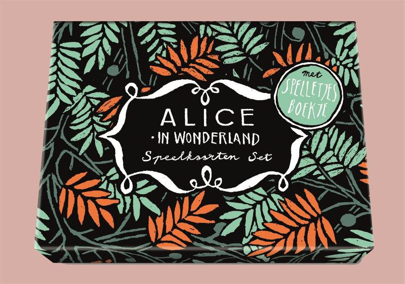 ,Alice in Wonderland - Speelkaartenset