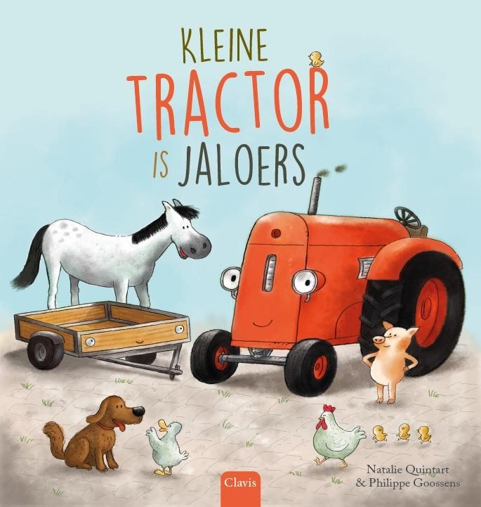 Natalie  Quintart,Kleine tractor is jaloers