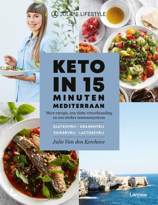 Julie Van den Kerchove,Keto in 15 minuten - Mediterraan