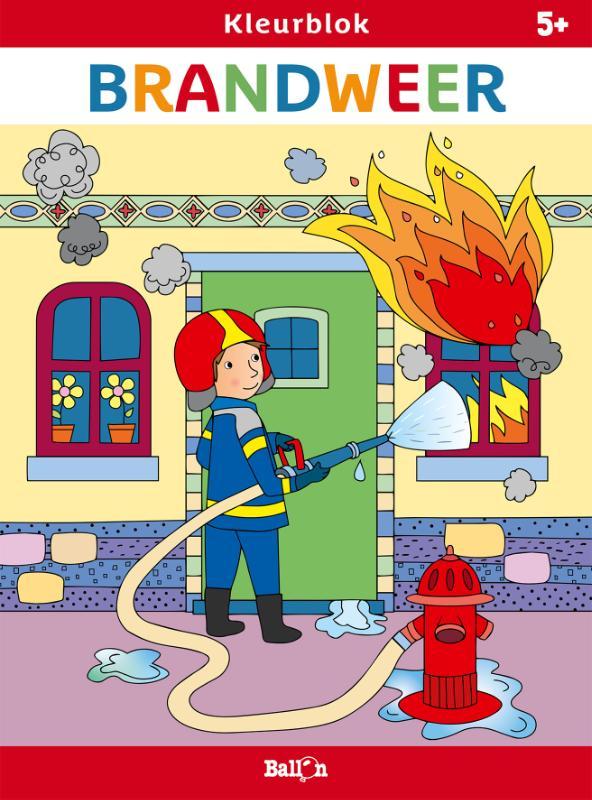 ,Kleurblok Brandweer