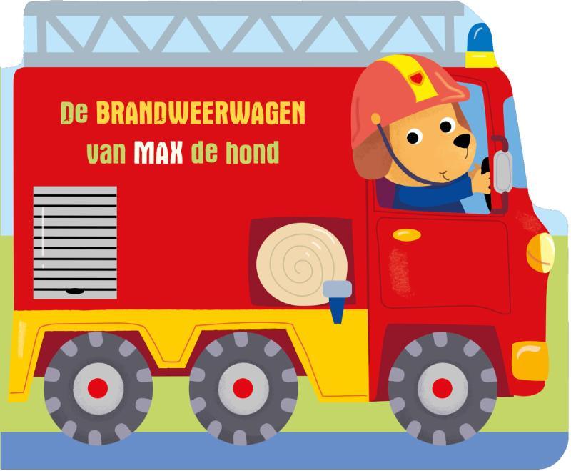 ,De brandweerwagen van Max de hond