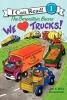 Berenstain, Jan,   Berenstain, Mike,The Berenstain Bears We Love Trucks!
