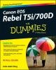 King, Julie Adair,Canon EOS Rebel T5i/700D For Dummies