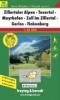 Zillertaler Alpen-Tuxertal-Mayrhofen-Zell im Zillertal-Gerlos-Finkenberg 1 : 35 000. WK 5152,GPS-tauglich / Freizeitführer / Ortsregister