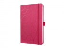 ,notitieboek Sigel Jolie Beauty A5 hardcover gelinieerd rood
