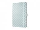 ,notitieboek Sigel Jolie Beauty A5 hardcover gelinieerd      lichtblauw