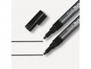 ,krijtmarker Sigel 1-2mm afwasbaar 2 stuks zwart