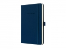 ,<b>notitieboek Sigel Conceptum Pure hardcover A5 donkerblauw   gelinieerd</b>