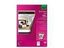,fotopapier Sigel kleurenlaser A4 hoogwit glans 135g 100 vel