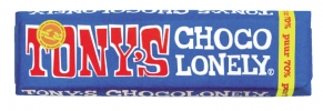 ,Chocolade Tony`s Chocolonely reep 50gr puur