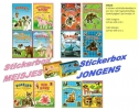 <b>Stickerboekjes Box Jongens</b>,