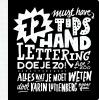 <b>Karin  Luttenberg</b>,72 tips - Handlettering doe je zo!