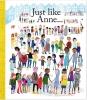 Uggbert,Just like Anne, Uggbert, Anne Frank, illustrations Ingrid Robers