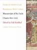 ,Manuscripts of the Latin Classics 800-1200 (Studies in Medieval and Renaissance Book Culture)