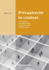 Marc  Loth ,Privaatrecht in context